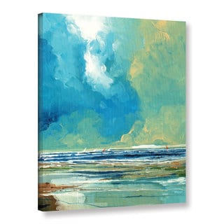 Stuart Roy's ' Sea View On Boards I' Gallery Wrapped Canvas