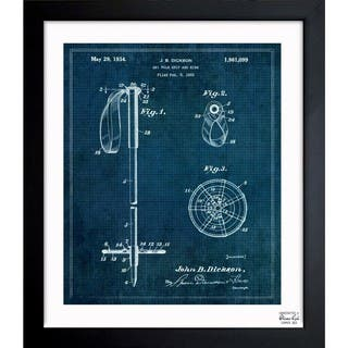 Oliver Gal 'Ski Pole Grip And Ring 1933' Framed Blueprint Art|https://ak1.ostkcdn.com/images/products/11535056/P18481925.jpg?impolicy=medium