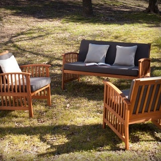 Harper Blvd Charlotte Outdoor 3pc Deep Seating Set