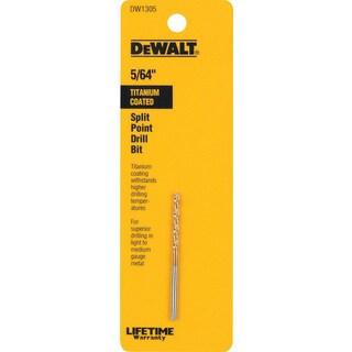 """Dewalt DW1305 5/64"""" Titanium Split Point Drill Bit"""