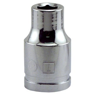"Great Neck SK7M 7MM X 3/8"" Drive 6 Point Socket Metric"