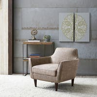 Oxford Cream Colored Modern Accent Chair Free Shipping