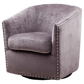 Tyler Grey Xandu Swivel Chair
