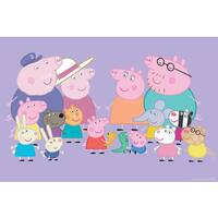 Marmont Hill 'Friends & Family' Peppa Pig Painting Print on Canvas - Multi-color