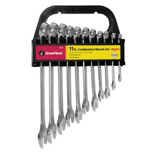 Great Neck 51070 Combo Wrench Set 11-count