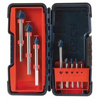 Bosch GT3000 Carbide Glass & Tile Hammer Drill Bit 8 Piece Set