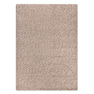 M.A.Trading Indian Hand-woven Omega Natural Rug (5'x8')