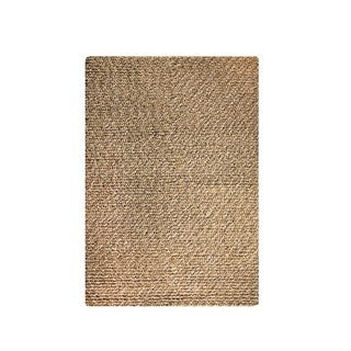 M.A.Trading Indian Hand-woven Omega Camel Rug (5'x8')