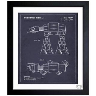 Oliver Gal 'Toy Vehicle II, 1982' Framed Blueprint Art