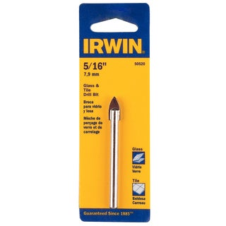 "Irwin 50520 5/16"" Glass & Tile Bit"