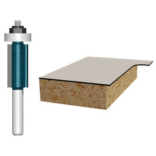 "Bosch 85267M 1/2"" Laminate Trim Double Flute Router Bit"