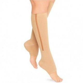 Open Toe/Zip Up Compression Socks (3 options available)