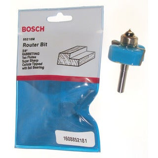 "Bosch 85218M 3/8"" Rabbeting Router Bit Double Flute"