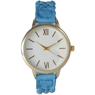 Olivia Pratt Women's Braided classically inspired Watch