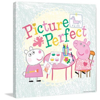 Marmont Hill 'Picture Perfect' Peppa Pig Painting Print on Canvas