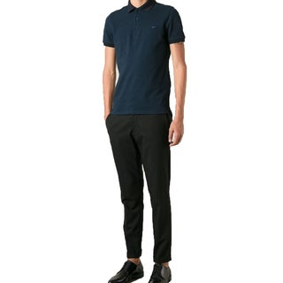 Burberry Men's Atkins Blue Polo T-Shirt