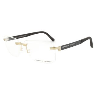 Porsche Design P8236 B Gold and Grey Eyeglasses Frame