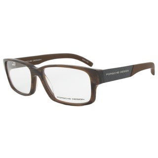 Porsche Design P8241 B Horn Brown Eyeglasses Frame