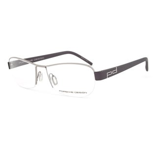 Porsche Design P8211 C Gunmetal and Aubergine Eyeglasses Frame