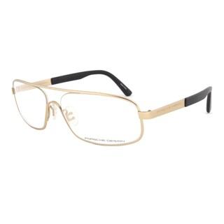Porsche Design P8225 C Gold Eyeglasses Frame