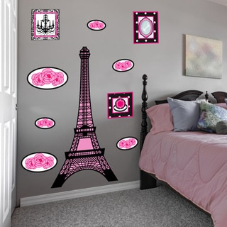 Peel and Play Big Eiffel Tower Decal Set