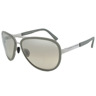 Porsche Design P8567 D Aviator Sunglasses