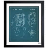Oliver Gal 'iPod 2006' Framed Blueprint Art