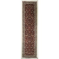 Hand Knotted Flat Weave Runner (3'6 x 10'4)