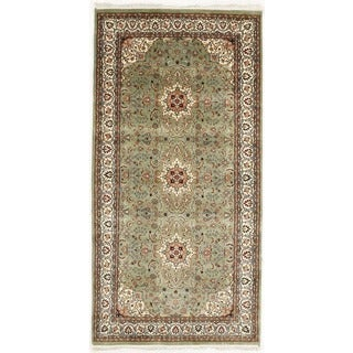 Hand Knotted Flat Weave Rug (5' x 9'11)