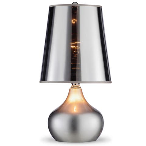 Metallic Luster 18-inch Retro Table Lamp