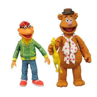 Diamond Select Toys Muppets Select Series 1 Fozzie/Scooter Action Figure