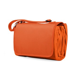 Picnic Time Orange Blanket Tote (Option: Orange)