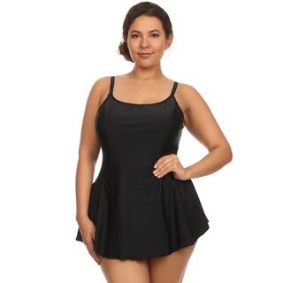 Dippin Daisy's Solid Black One Piece Swimdress