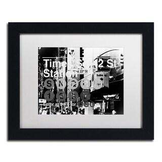 Philippe Hugonnard 'Subway City Art NYC II' Matted Framed Art