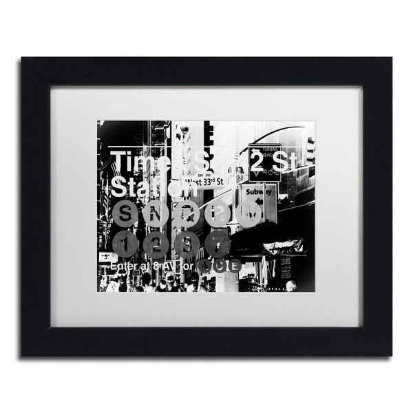 Shop Philippe Hugonnard \'Subway City Art NYC II\' Matted Framed Art ...