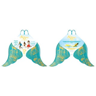 Mahina Mermaid Merfin Adult Classic Swimming Fin - Aqua