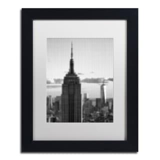 Philippe Hugonnard 'Pixels Print NYC' Matted Framed Art