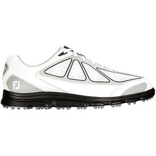 FootJoy Men's White/ Grey/ Black SuperLites Golf Shoes