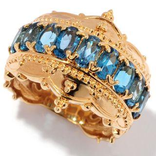 Michael Valitutti London Blue Topaz Ring