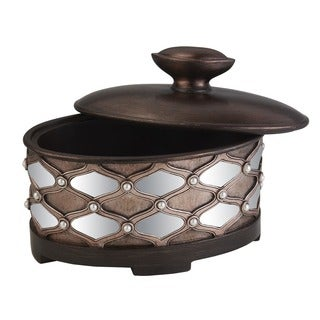 Arabesque Mirror Jewelry Box