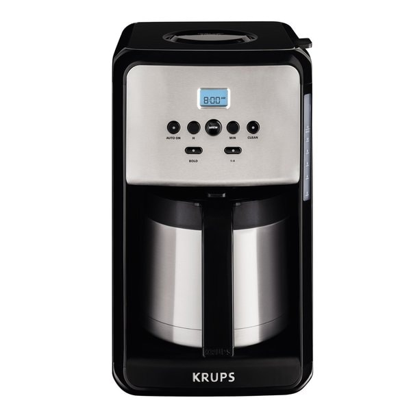Krups Savoy 12 Cup Thermal Coffee Maker   ET351050
