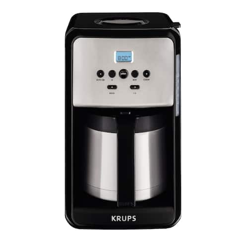 Krups Savoy 12-Cup Thermal Coffee Maker - ET351050