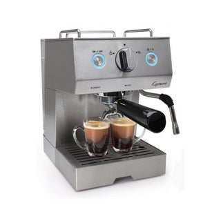 Capresso 12505 Cafe Pro Espresso & Cappuccino Machine (Stainless steel)