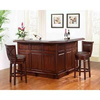 Whitaker Furniture Distressed Home Bar
