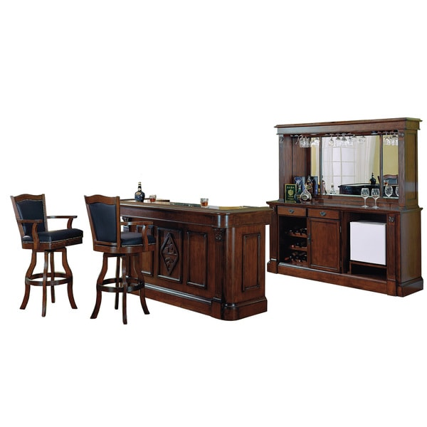 Overstock Bar: Shop Whitaker Furniture Monticello Front Bar