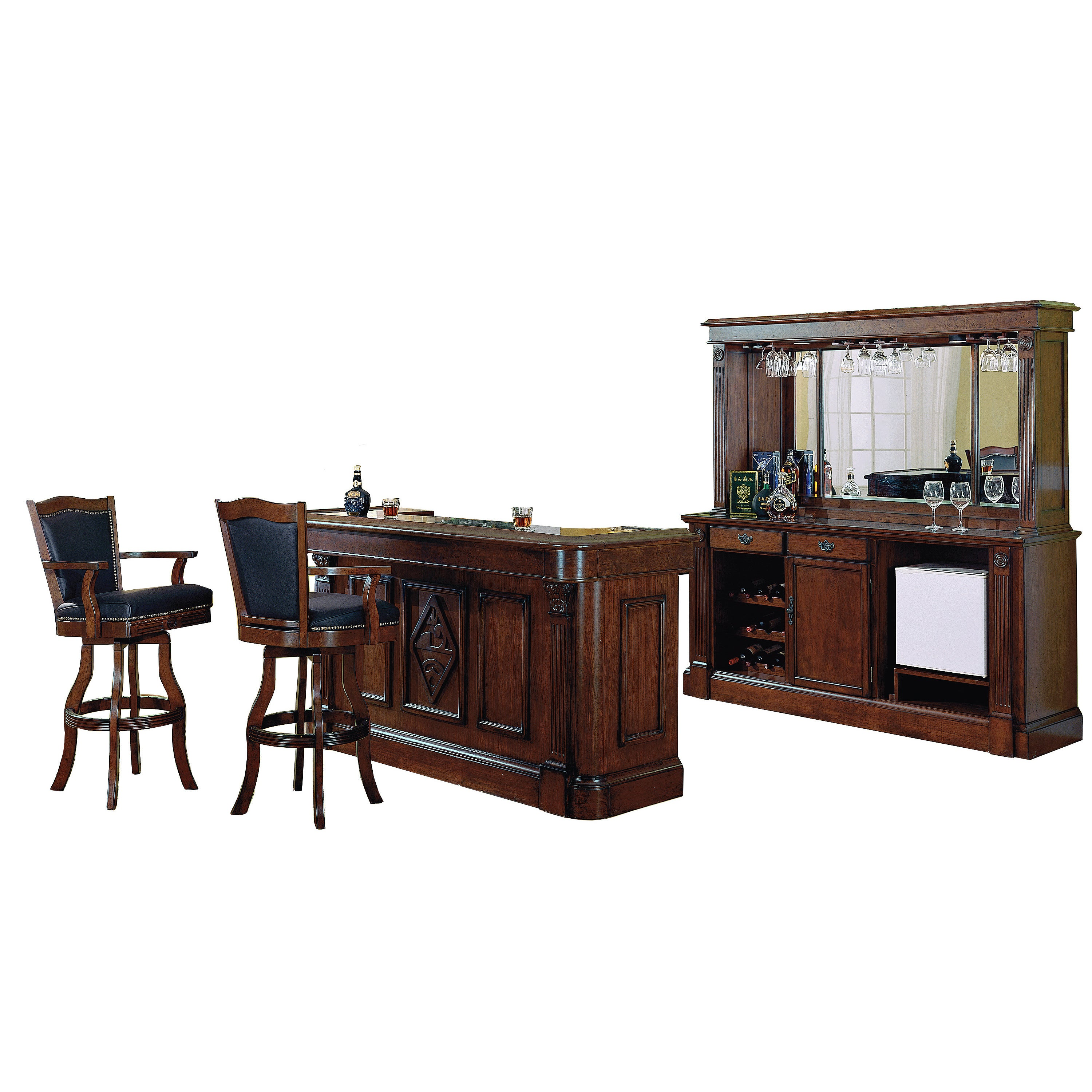 Picture of: Whitaker Furniture Monticello Back Bar Overstock 11537066