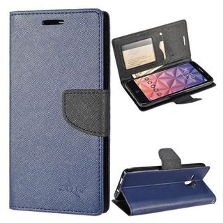 Insten Leather Case Cover with Stand/Wallet Flap Pouch/Photo Display For Alcatel One Touch Fierce XL
