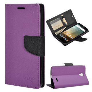 Insten Leather Case Cover with Stand/Wallet Flap Pouch/Photo Display For ZTE Prestige