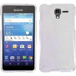 Insten Hard Snap-on Crystal Case Cover For Kyocera Hydro View