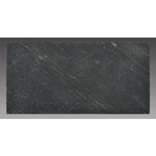 Peel-and-Stick Natural Stone 3-inch x 6-inch Backsplash Tiles in Black Line (5 square feet)